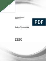 IBM Cognos Analytics Getting Started Guide