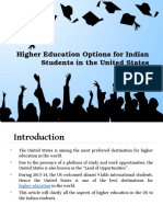 Higher Education Options for Indian Students in the United States