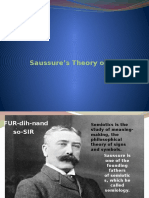 Saussure's Theory of the Sign