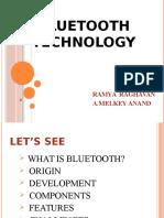 Bluetooth Technology.
