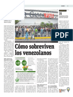 Cómo Sobreviven Los Venezolanos