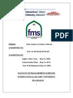 Business Finance Report Project VVVVVVVVVVVVVVV