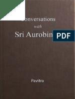 Conversations With Sri Aurobindo-Pavitra