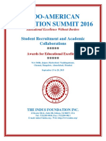 Indo-American Education Summit 2016 in India