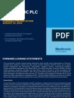 Medtronic Earnings Presentation FY17Q1