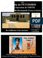 La Tumba de PETOSIRIS, Sumo Sacerdote de THOT , Hermópolis  - Antiguo Egipto