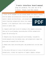 HY-JK05-K6-axis interface board manual.doc