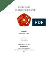 Laporan Kasus Toxic Epidermal Necrolisis