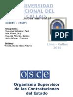 Contabilidad Gubernamental - OSCE & SIAF