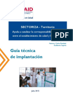 SECTORIZA Territorio Guia Implantacion