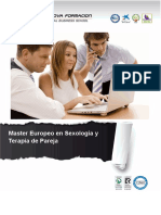 Master Europeo en Sexología y Terapia de Pareja
