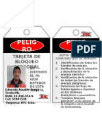 Tarjeta de Bloqueo 2014.pptx