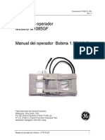 Manual del operador Bobina 1.5T GP Flex