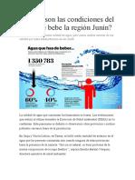 Cuáles son las condiciones del agua que bebe la región Junín.docx