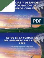 Tercer Punto Interactivo Diapositivas Tendencias y Desafios en La Formacion de Ingenieros Civiles