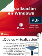 Virtualizacion Windows