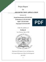 Sea Border Detection Application