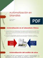Automatización en Urianálisis 2016