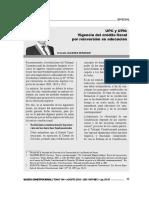 Ernesto Alvarez - Comentarios al Caso UPN y UPC