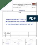 M01-A Manual de Montaje CCMs Desenchufables