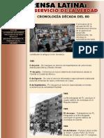 Prensa Latina - Cronologia Años 80