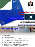 Clossing the Lean Leadership Gap