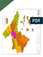 Mapa Politico de San Gil