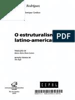 o Estruturalismo Latino-Americano Octávio Rodrigues