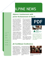 Alpine News Vol 1, Issue 1