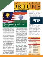 Malaysian Palm Oil FORTUNE (Vol 6 2012)