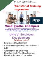 HR Training & Development MBA