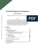 Feynman Diagrams for Beginners