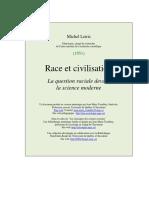 Michel Leiris, Race et Civilisation