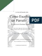 Como Escribir Un Parrafo (TEORIA)1