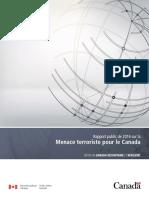 160825 2016 Rapport public de 2016 sur la Menace terroriste pour le Canada