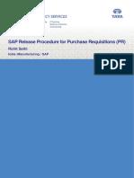 SAP MM Release Procedure