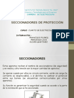 SECCIONADORES DE PROTECCIÓN