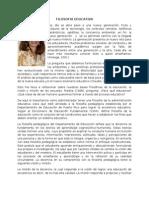 Filosofia Educativa Carmen Sol Cruz Roman