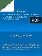 Tema 22. El Duelo