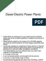 Diesel Electric Power Plants