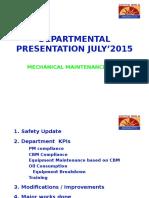 Departmental Ppt July'15