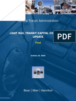FTA LRT Capital Cost Study Final Report 101003