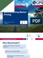 Benchmarking Market Pricing