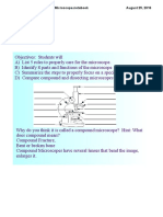 biology lesson 4 - microscope notes internet
