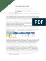 Eficiencia Técnica y e. Económica