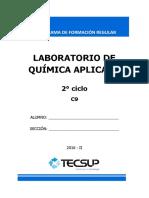 Módulo de Laboratorio Quimica Aplicada