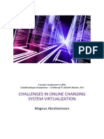Challenges in Online Charging System Virtualization