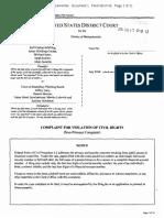 Shutesbury Solar Federal Lawsuit 08172016
