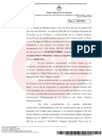 Sobreseimiento a Mauricio Macri