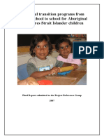 ATSI Successful Transition Programs Report Dec 2007